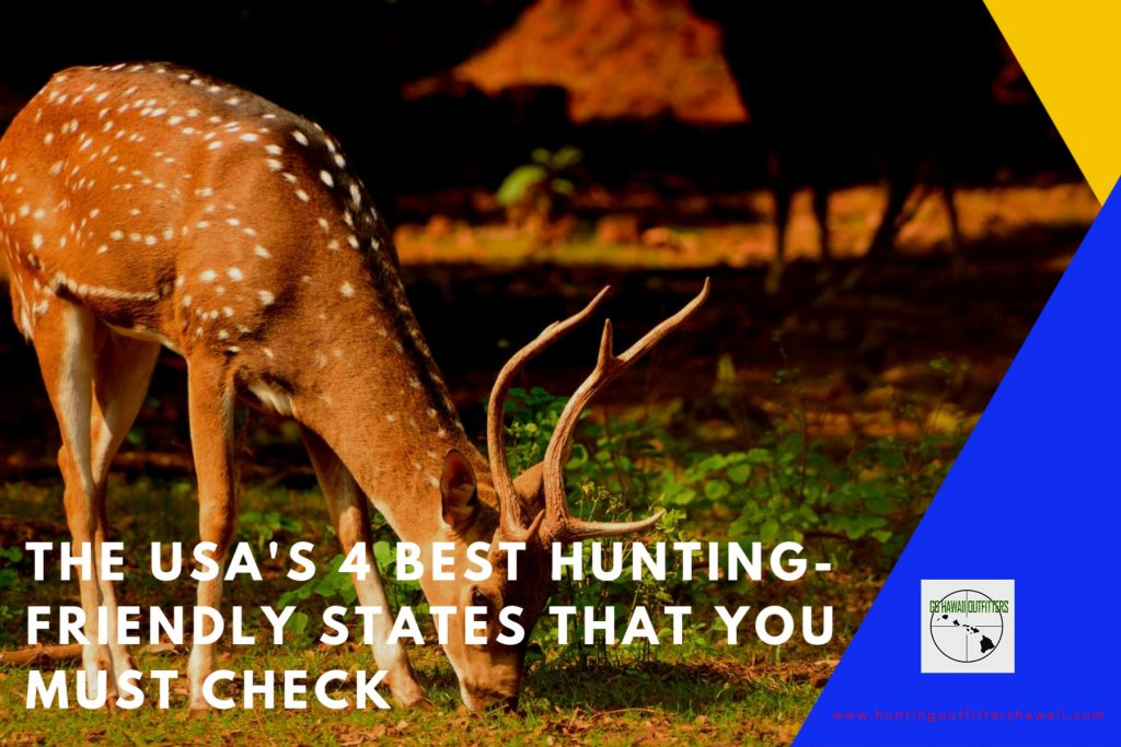 USA Hunting Friendly States